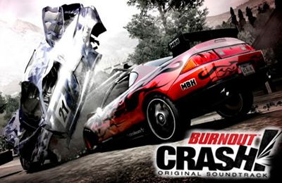 Screenshots of the Burnout Crash game for iPhone, iPad or iPod.