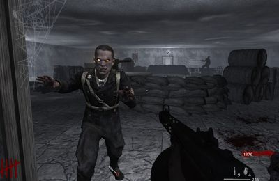 Screenshots of the Call of Duty World at War Zombies II game for iPhone, iPad or iPod.