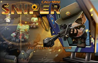 Screenshots of the Call of Mini: Sniper game for iPhone, iPad or iPod.