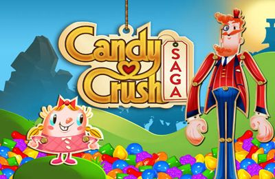 Screenshots of the Candy Crush Saga game for iPhone, iPad or iPod.