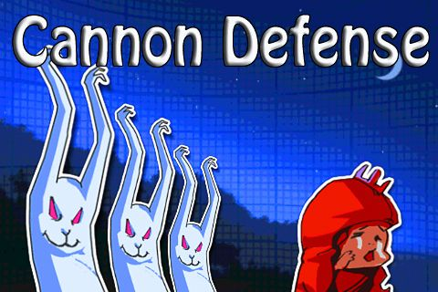 Download Cannon defense iPhone free game.