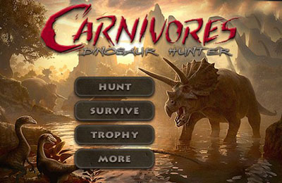 Download Carnivores: Dinosaur Hunter iPhone free game.