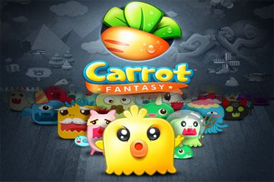Screenshots of the Carrot Fantasy game for iPhone, iPad or iPod.