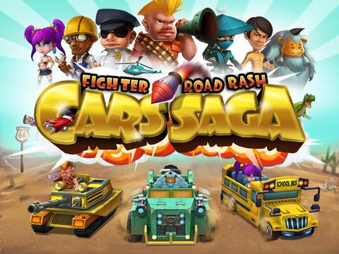 Download Cars Saga: Fighter Road Rash iPhone free game.