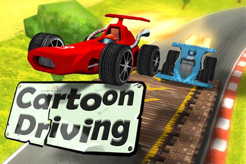 Download Cartoon driving iPhone free game.