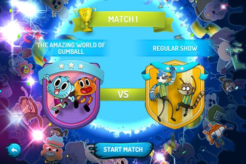 of the Cartoon Network superstar soccer game for iPhone, iPad or iPod