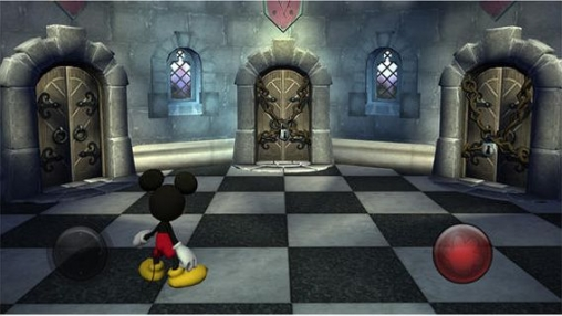 Screenshots of the Castle of Illusion Starring Mickey Mouse game for iPhone, iPad or iPod.