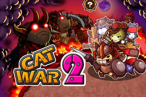 Download Cat war 2 iPhone free game.