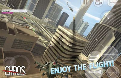 Screenshots of the C.H.A.O.S Tournament game for iPhone, iPad or iPod.