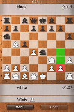 Screenshots of the Chess Multiplayer game for iPhone, iPad or iPod.