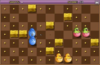 Screenshots of the Chicken & Egg game for iPhone, iPad or iPod.