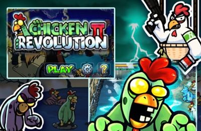 Screenshots of the Chicken Revolution 2: Zombie game for iPhone, iPad or iPod.