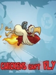 In addition to the game Chicken Revolution 2: Zombie for iPhone, iPad or iPod, you can also download Chickens Can't Fly for free