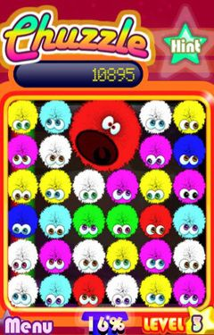 Screenshots of the Chuzzle game for iPhone, iPad or iPod.