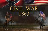 In addition to the game Angry Panda (Christmas and New Year Special) for iPhone, iPad or iPod, you can also download Civil War: 1863 for free
