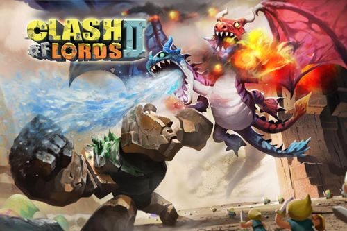 Download Clash of lords 2 iPhone free game.