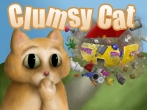 In addition to the game Angry Panda (Christmas and New Year Special) for iPhone, iPad or iPod, you can also download Clumsy Cat for free