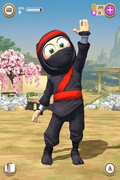 Screenshots of the Clumsy Ninja game for iPhone, iPad or iPod.