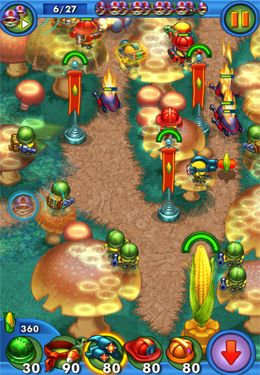 Screenshots of the Corn Quest game for iPhone, iPad or iPod.