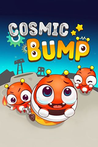 Cosmic bump - iPhone game screenshots. Gameplay Cosmic bump.
