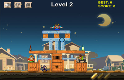 Knock Knock Game http://iphone.mob.org/game/cowboy_pixel_tower_knock_them_off_and_crush_the_structure.html