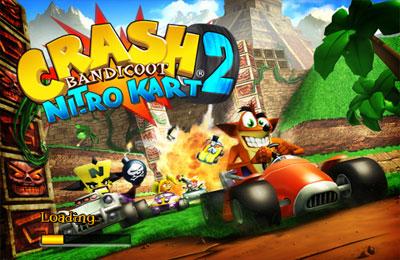 Screenshots of the Crash Bandicoot Nitro Kart 2 game for iPhone, iPad or iPod.