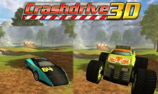 Download Crash drive 3D iPhone free game.