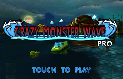 Download Crazy Monster Wave iPhone free game.