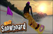 In addition to the game Road Warrior Multiplayer Racing for iPhone, iPad or iPod, you can also download Crazy Snowboard for free