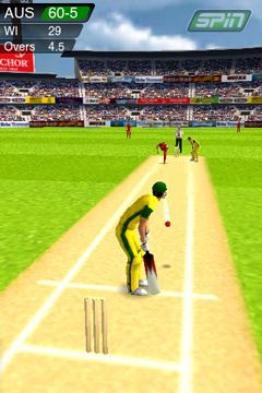 Screenshots of the Cricket Game game for iPhone, iPad or iPod.
