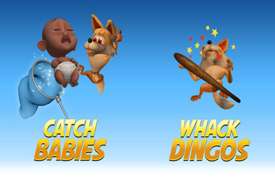 Screenshots of the Cry Babies Pro game for iPhone, iPad or iPod.