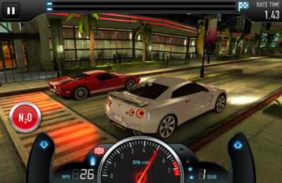 Screenshots of the CSR Racing game for iPhone, iPad or iPod.