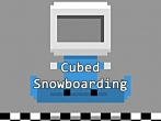 Download Cubed snowboarding iPhone free game.