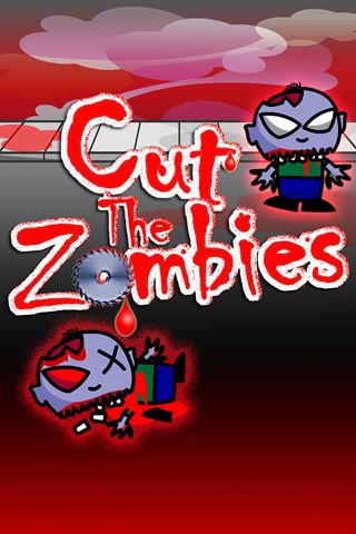 Download Cut the zombies iPhone free game.