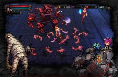 Screenshots of the Dark Avenger game for iPhone, iPad or iPod.