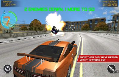 Screenshots of the Death Drive: Racing Thrill game for iPhone, iPad or iPod.
