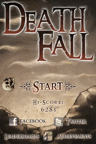Screenshots of the Deathfall game for iPhone, iPad or iPod.