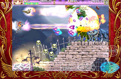 Screenshots of the Deathsmiles game for iPhone, iPad or iPod.