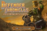 In addition to the game Critter Ball for iPhone, iPad or iPod, you can also download Defender Chronicles for free