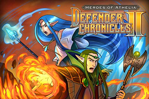 Download Defender chronicles 2: Heroes of Athelia iPhone free game.