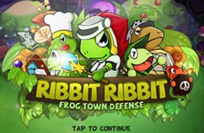 Download Defense Warrior RibbitRibbit Plus iPhone free game.