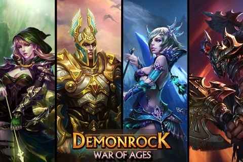 Download Demonrock: War of ages iPhone free game.