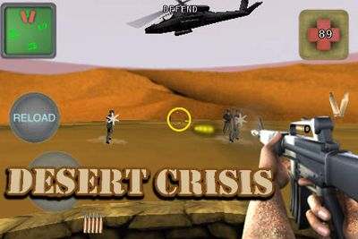 Screenshots of the Desert Crisis game for iPhone, iPad or iPod.