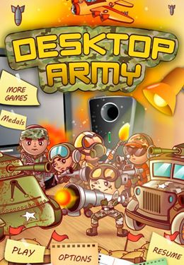 Download Desktop Army iPhone free game.