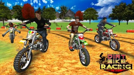 Download Dirt Bike Racing iPhone free game.