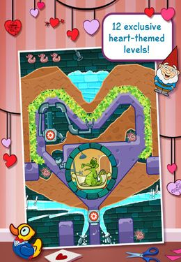 Screenshots of the Disney Where's My Valentine? game for iPhone, iPad or iPod.