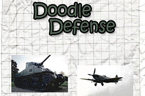 Download Doodle defense! iPhone free game.