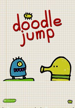 Screenshots of the Doodle Jump game for iPhone, iPad or iPod.