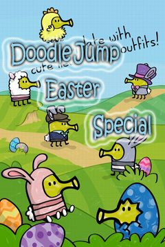 Download Doodle Jump Easter Special iPhone free game.