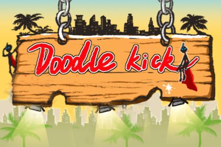 Download Doodle kick iPhone free game.